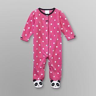 bf044e755 Small Wonders- -Infant Girl s Sleeper Pajamas - Pandas