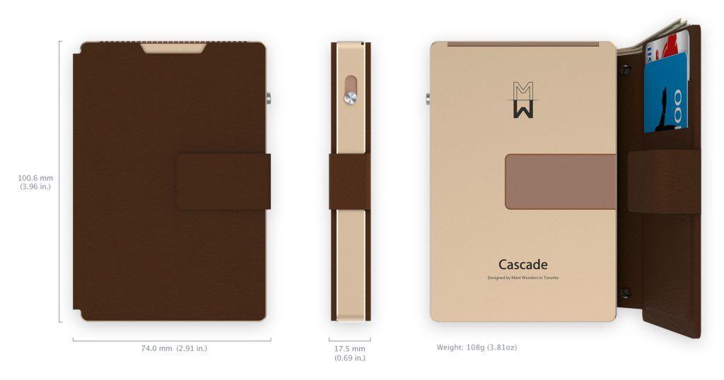 Cascade Wallet Wallet Card Sizes Cascade