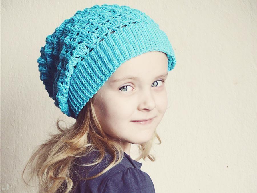 Crochet slouchy hat Magnolia