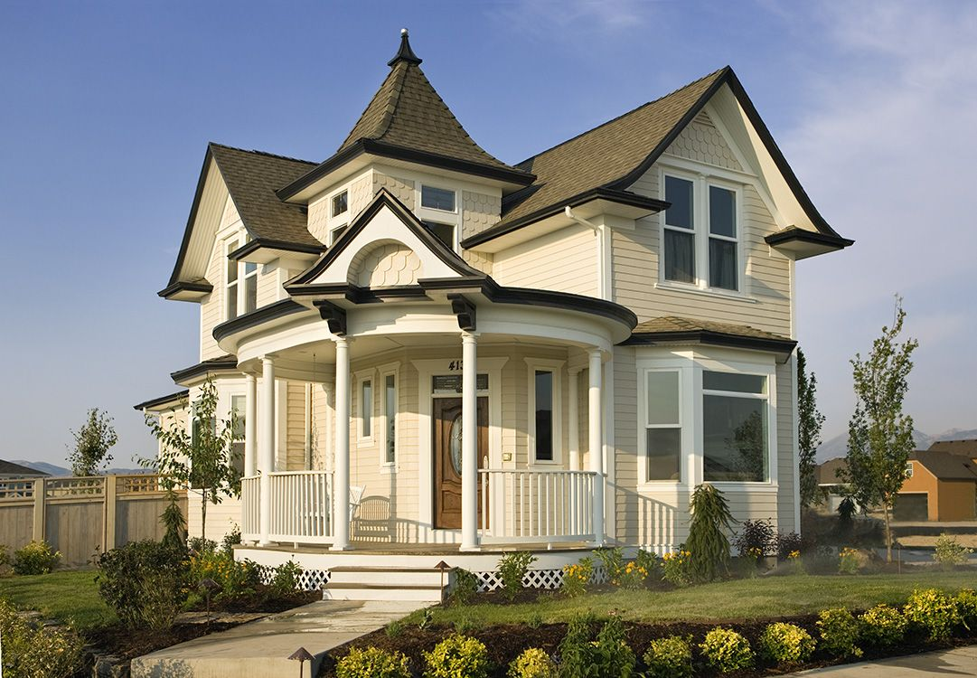 We can do custom homes too homes with color style for Custom victorian homes
