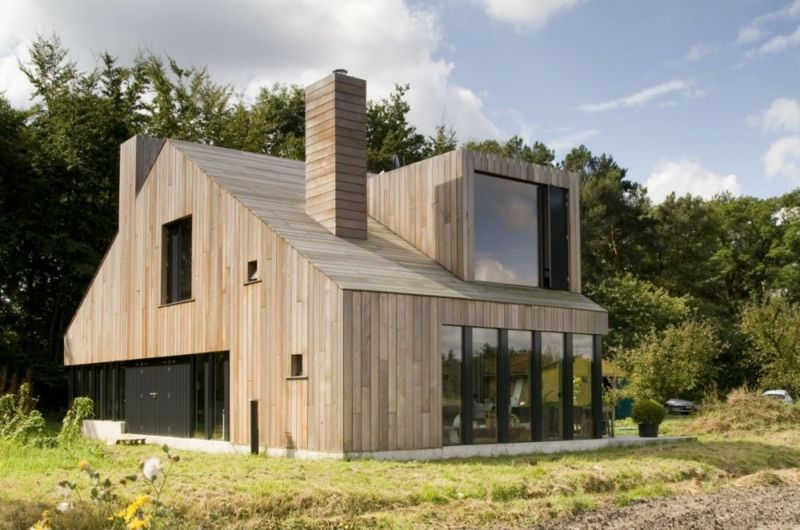 Modernes Holzhaus modernes holzhaus bauen welche vorteile bietet ihnen der