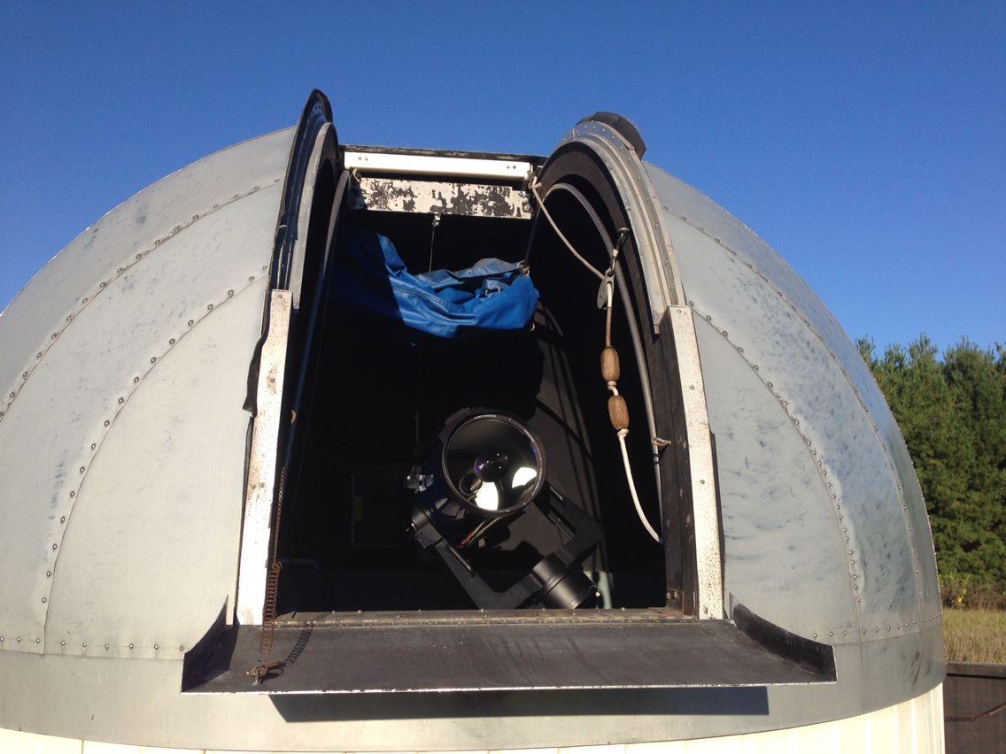 "My backyard Observatory with a 12"" Meade LX200 computerized telescope ."