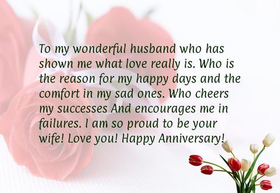 happy anniversary sayings for my husband
