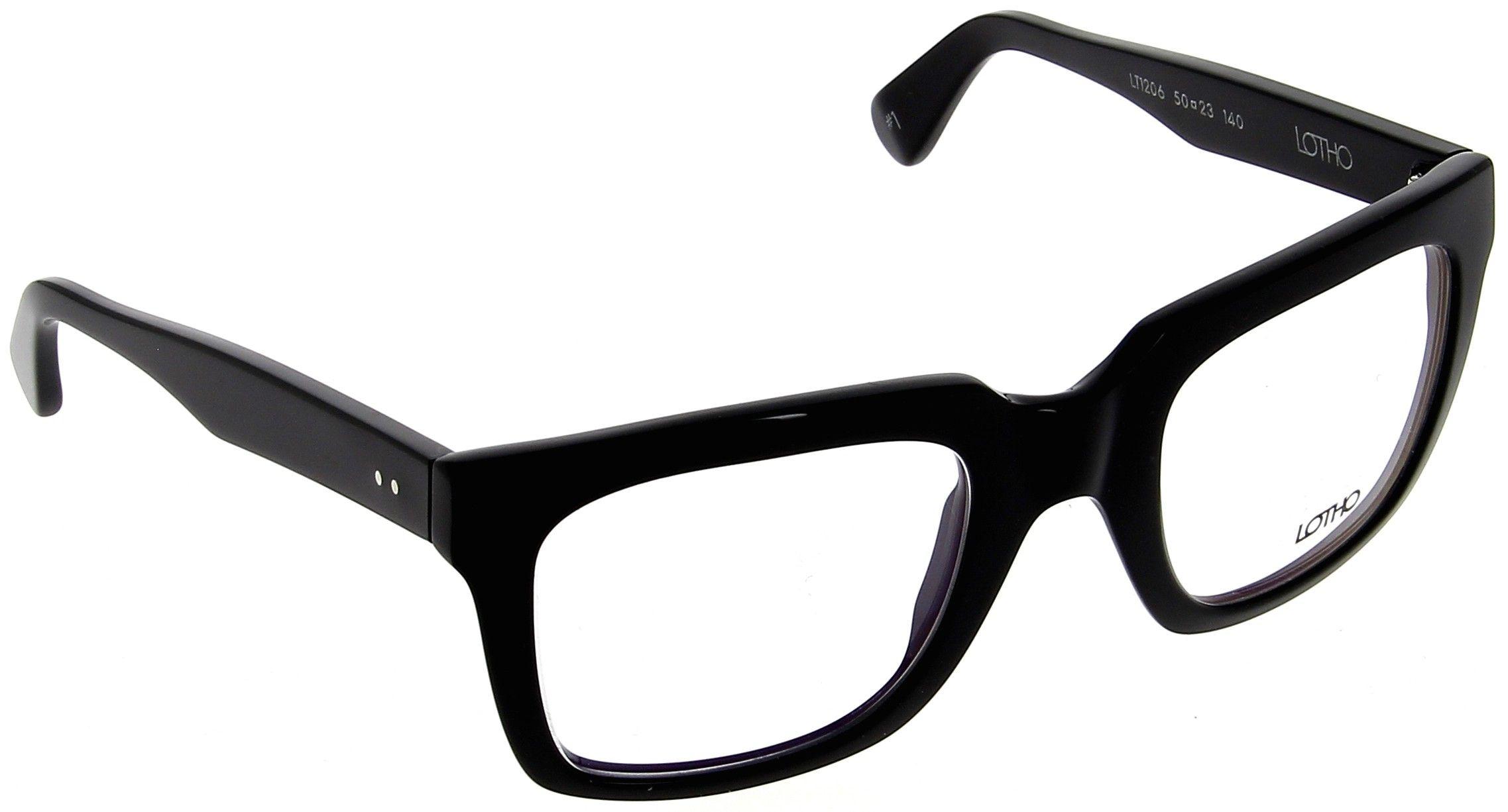 Lotho Paul 1 Black glasses