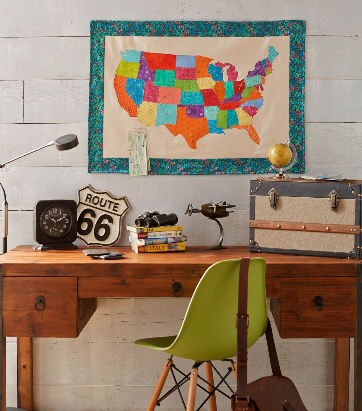 Home Decor Sewing Ideas: DIY Map Projects