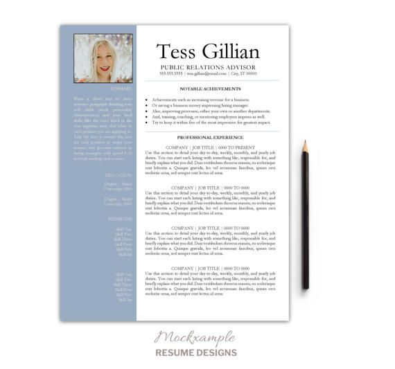 Student Resume Graduate One-Page Resume Cover Letter by Mockxample - resume one page