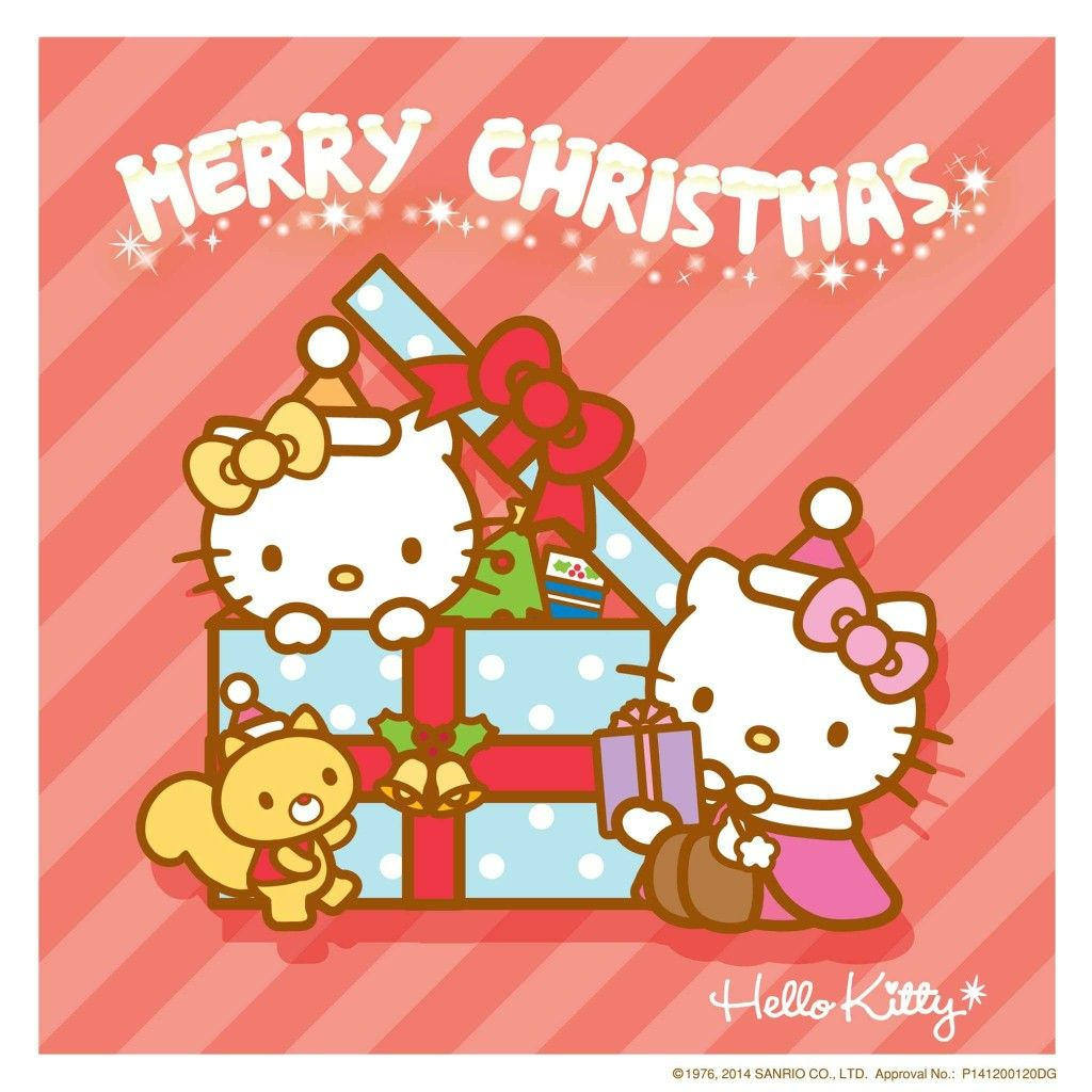Hello Kitty Merry Christmas.Mimmy Et Kitty Merry Christmas Hello Kitty Hello Kitty