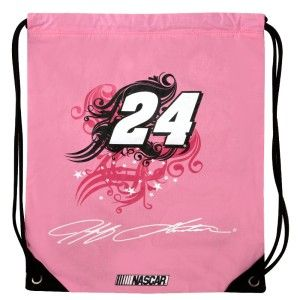 Jeff Gordon #24 Ladies Cinch Backpack  I have the exact same bag but it's black red and yellow