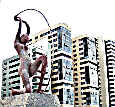 Estátua de Iracema Guardiã - Fortaleza