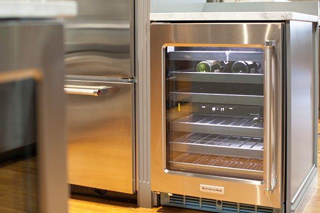 Kitchenaid Undercounter Refrigerator Mg 6454 Kitchen Appliances Luxury Kitchen And Bath Remodeling Best Refrigerator