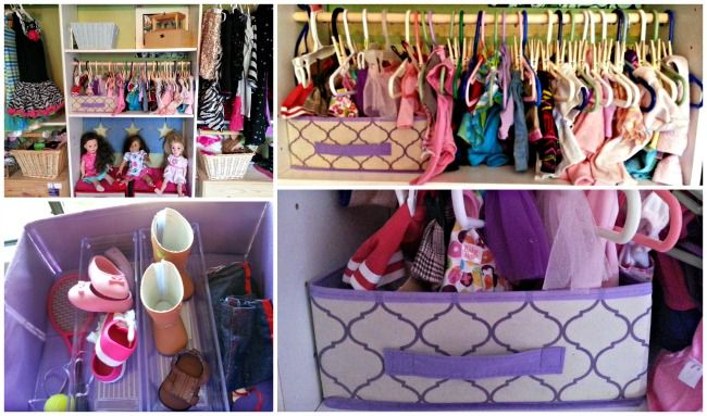 Making A Doll Clothes Closet With Dollar Store Items Perfect For American Girl Dolls American Girl Doll Diy American Girl Diy American Girl Storage