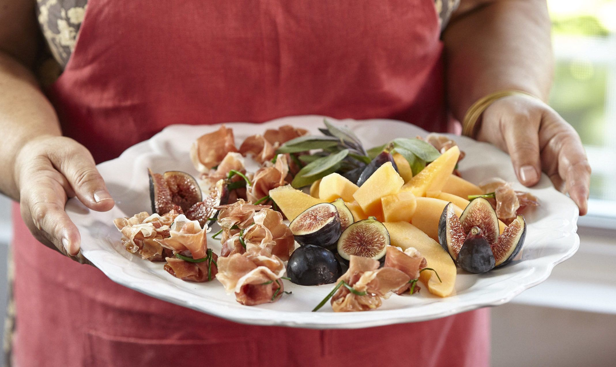 Just Wanted To Share This Delicious Recipe From Lidia Bastianich With You Buon Gusto Prosciutto Di P Lidias Italy Recipes Lidia S Recipes Healthy Appetizers