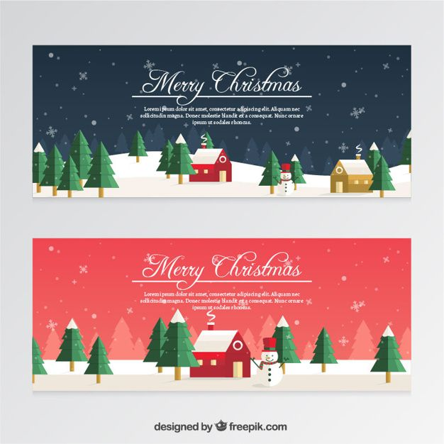 Christmas Banners.Pin On Graphic Resources