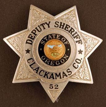 Clackamas County, OR, Deputy Sheriff | LE badges | Sheriff