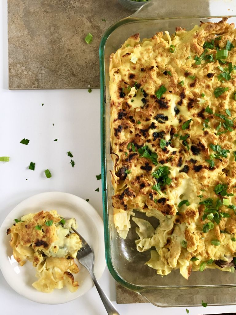 Vegan Chickenless Tetrazzini