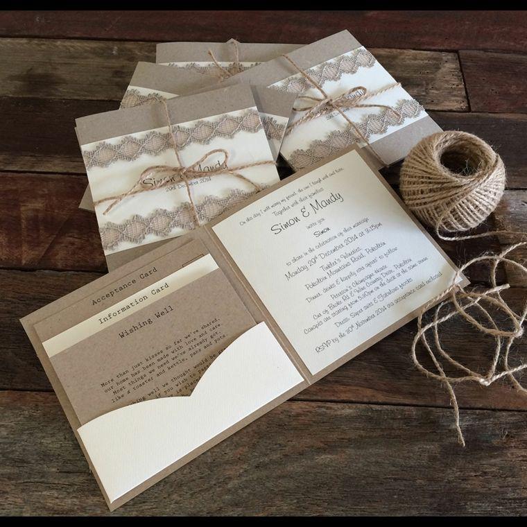 Invitaciones de boda vintage para una ceremonia retro - Como preparar mi boda ...
