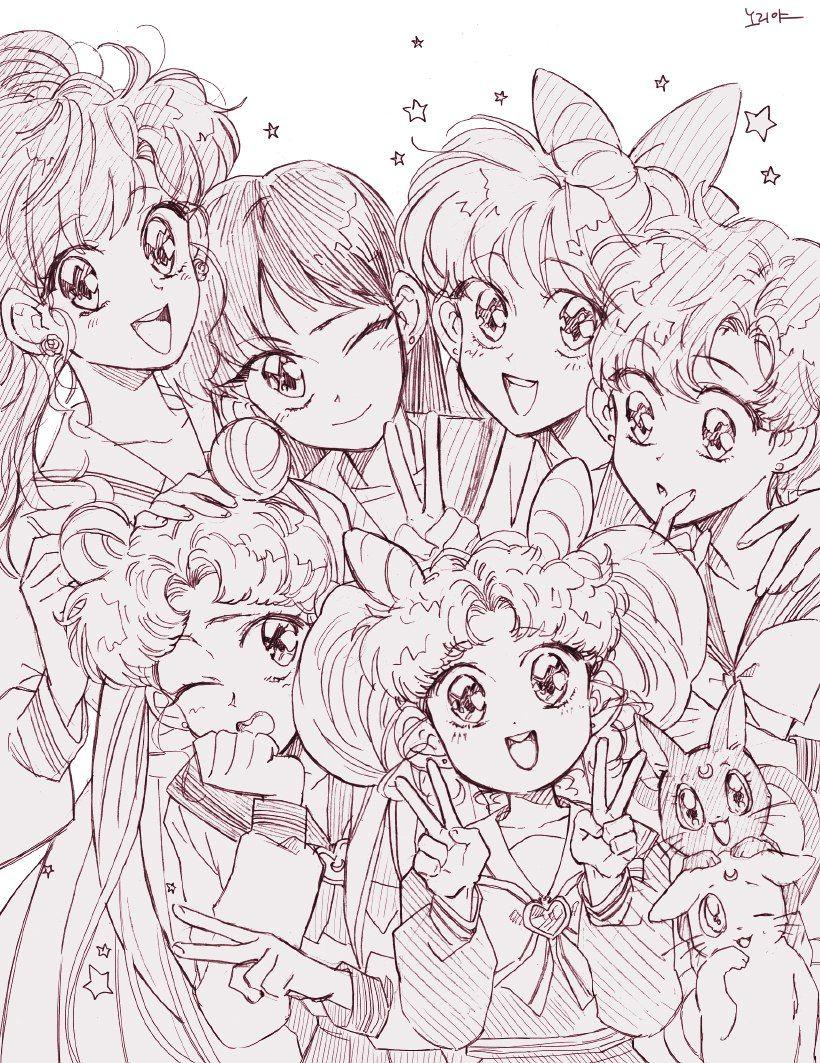 Sailor Moon • Сейлор Мун в 2020 г | Сейлор мун, Сэйлор мун ...