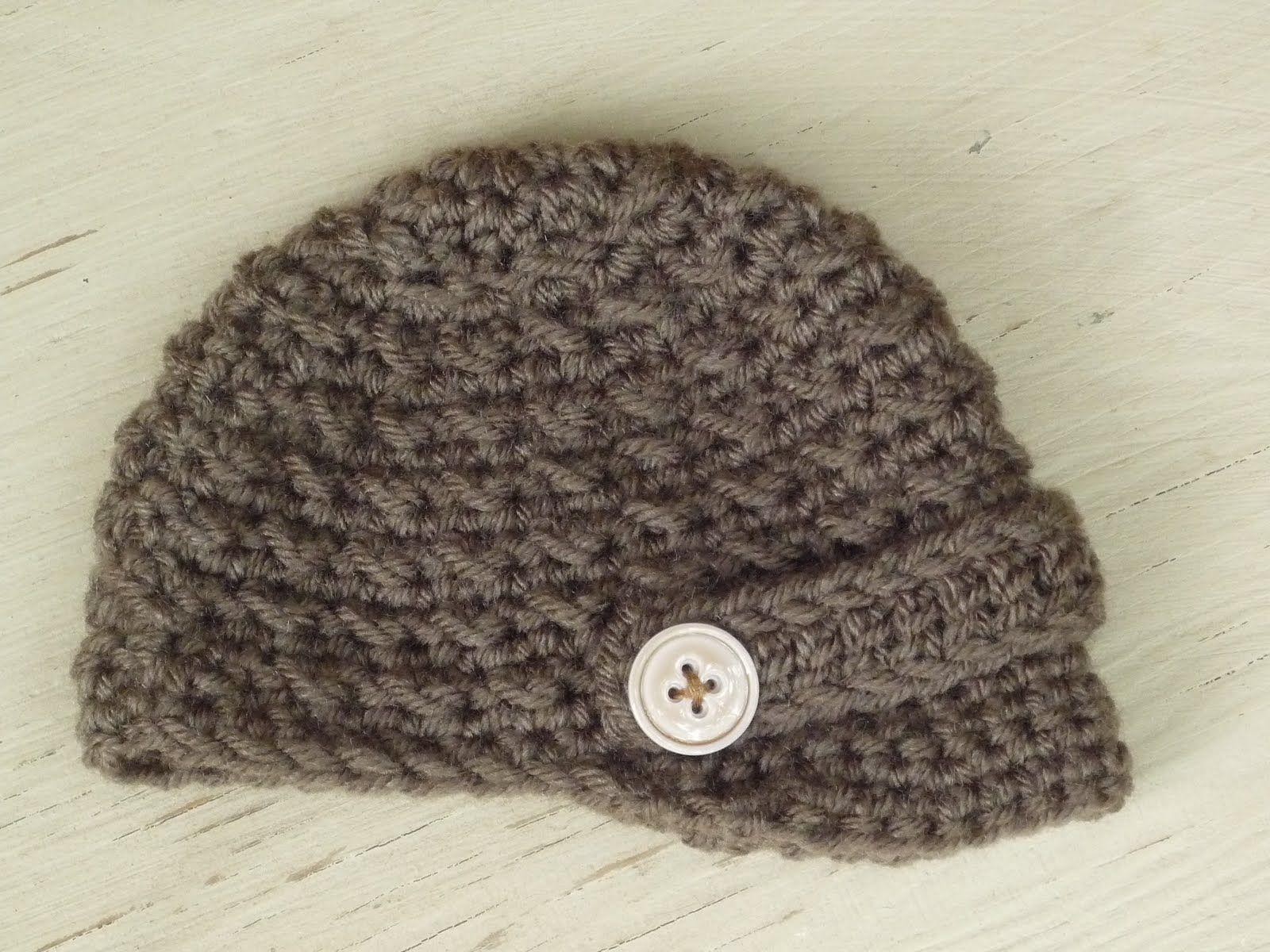 Free Crochet Boys Hat Patterns Baby Crochet And Photo