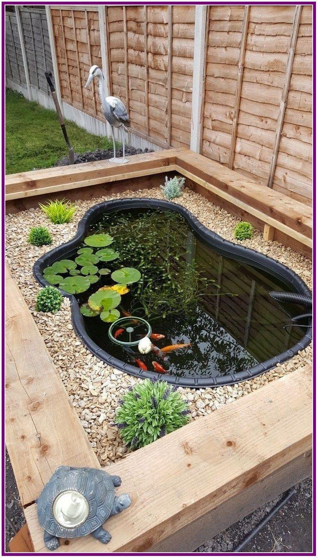 Everyone Can Make 35 Diy Backyard Turtle Pond Designs Ideas Turtlepond Garden Pond Design Ponds Backyard Turtle Pond