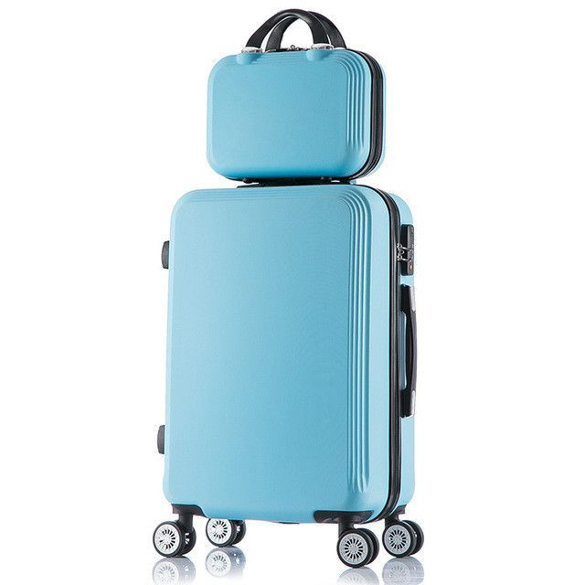 14 Cosmetic Bag 2pcs Set Lovely Kids Students Travel Suitcase Abs Trolley Case Uni 26 28 Large Capacity Rolling Luggage Pinterest