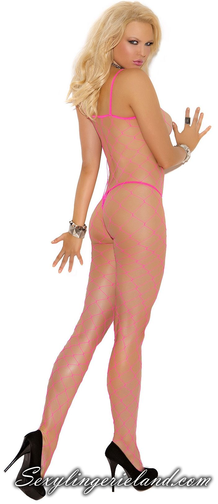 dd8cabf16 EM-1622 Lycra diamond net bodystocking  15.00 Have spicy time with your  lover