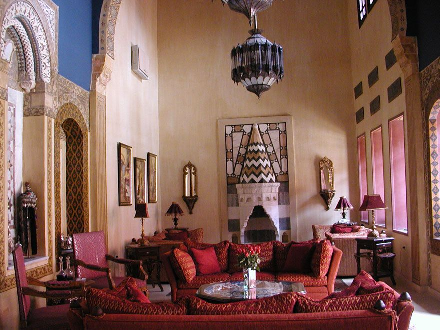 Casa rabe 2 my style pinterest casa arabe hogar y - Decoracion arabe interiores ...