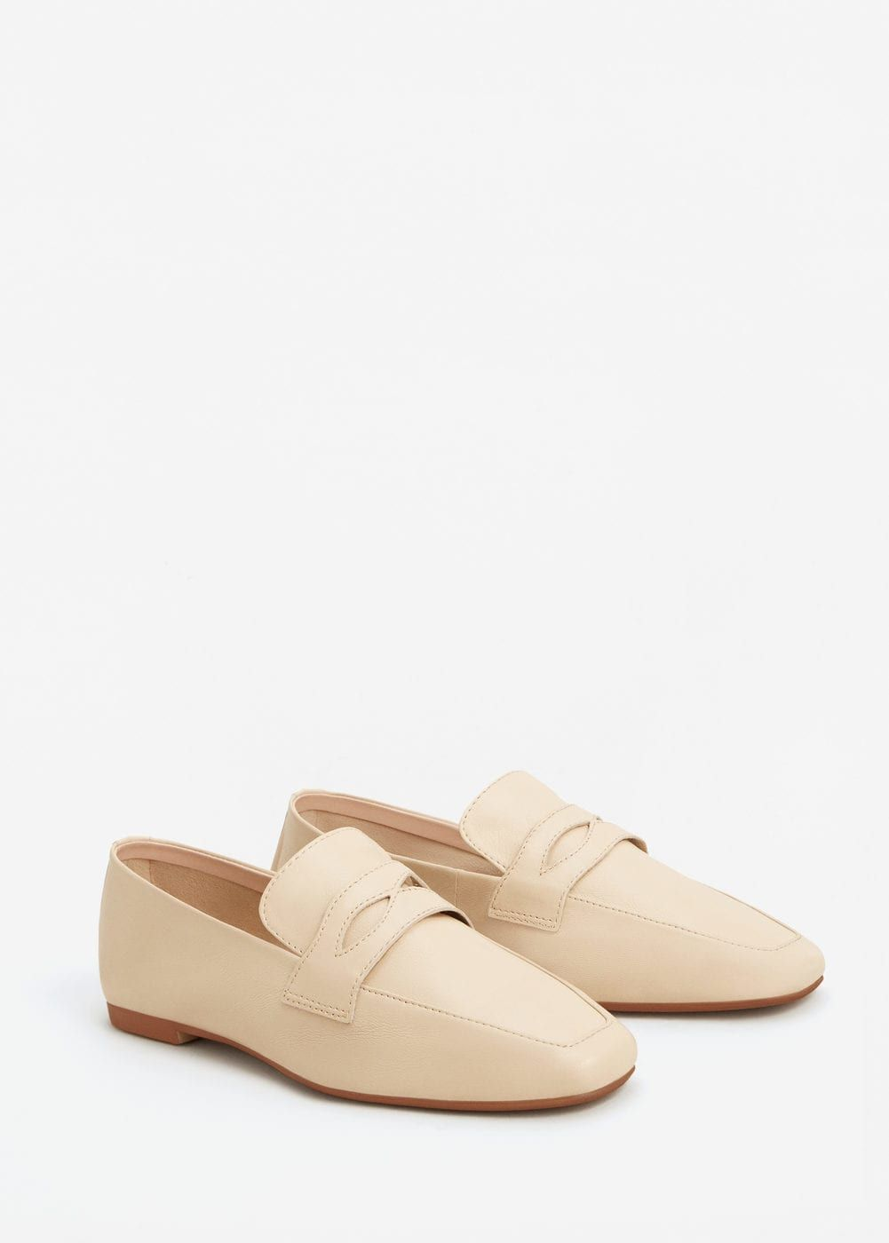 29c52a94794 Leather penny loafers - Woman