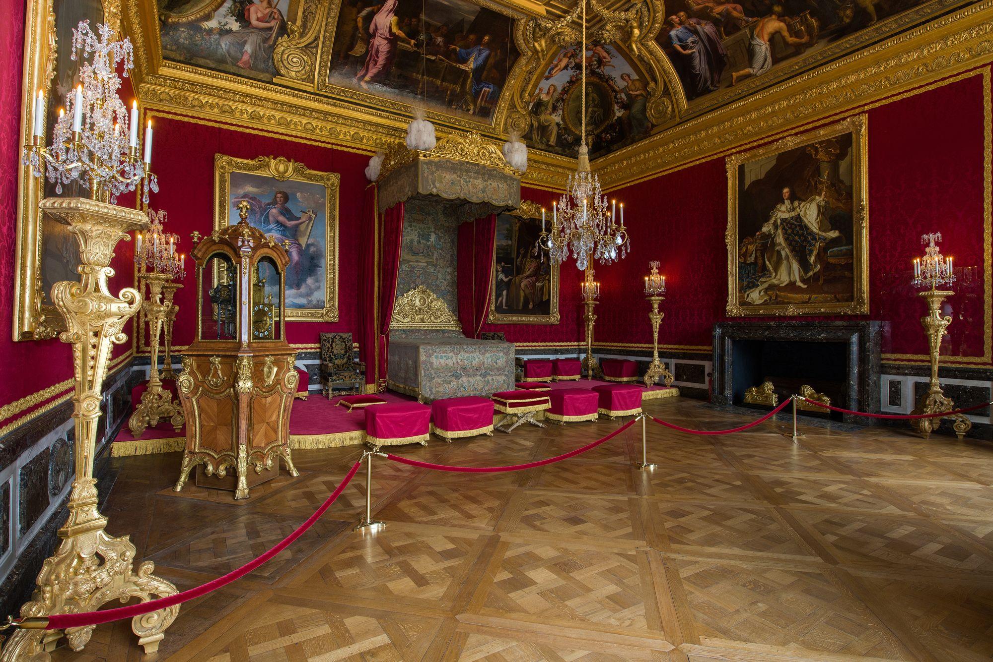 Appartement del rey versalles en el interior el equipo de le brun continu las experiencias - Chateau de menetou salon visites ...