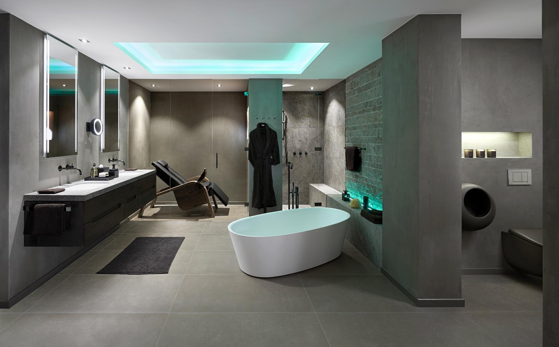 Moderne Badezimmer Einrichtungen Badgestaltung Badezimmer