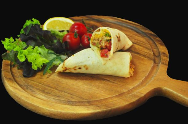 fresh noodle spring roll salad roll healthy foods