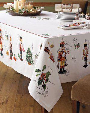 Williams Sonoma Christmas Table.Williams Sonoma Nutcracker Marc Lacaze Hand Screened Art