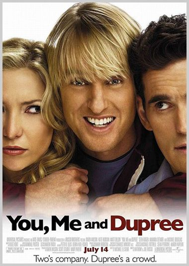 YOU, ME AND DUPREE movie poster