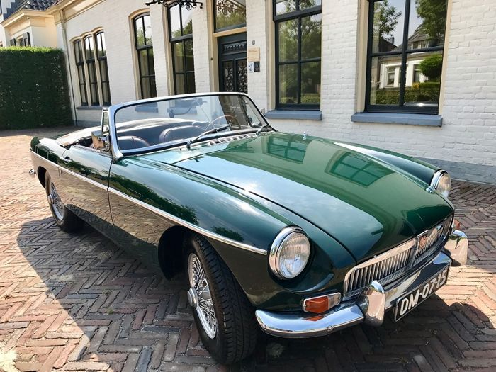 Catawiki Online Auktionshaus Mg B Roadster Overdrive 1967 Roadsters Classy Cars Custom Cars