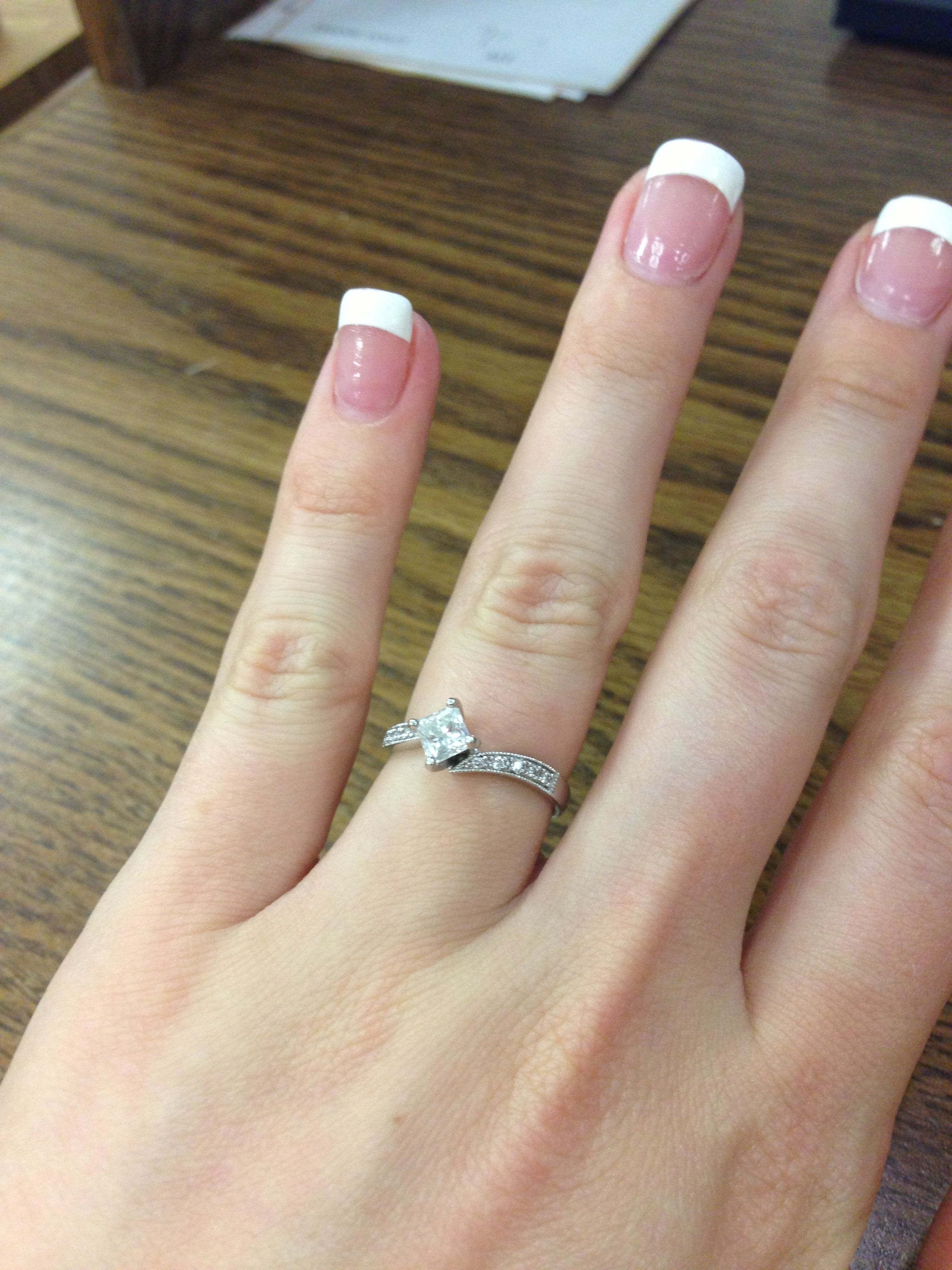 Engaged Nails Engagement Nails Nail Art Designs Manicure