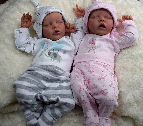 8d6f09e1c52 Custom order Twin A or Twin B Reborn baby girl or boy. From