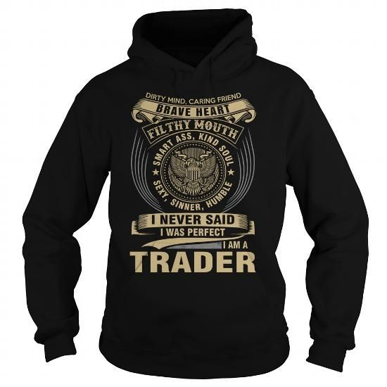 TRADER T Shirts, Hoodies, Sweatshirts. CHECK PRICE ==► https://www.sunfrog.com/Names/TRADER-119273112-Black-Hoodie.html?41382