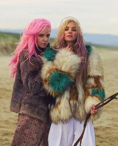 pink fur boho - Google Search
