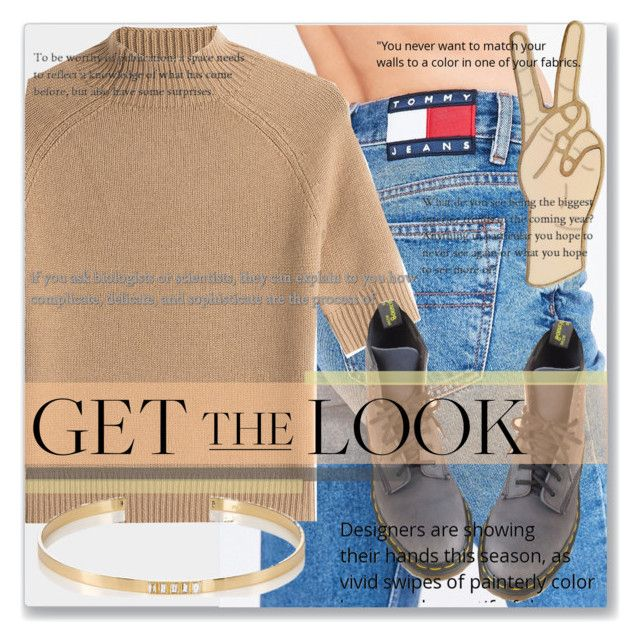 """#getthelook"" by crsharma ❤ liked on Polyvore featuring Tommy Hilfiger, Theory, Dr. Martens, Lucky Brand, Ileana Makri and GetTheLook"