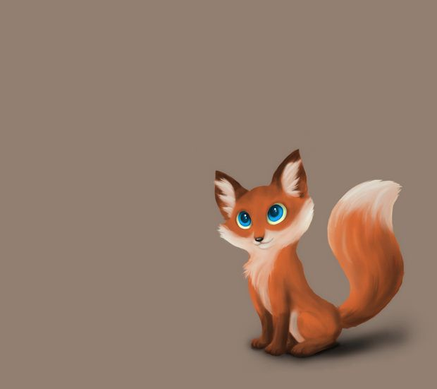 Cute Cartoon Foxes Wallpaper Image Result For Fox Cartoon Wallpaper Dessins Renards