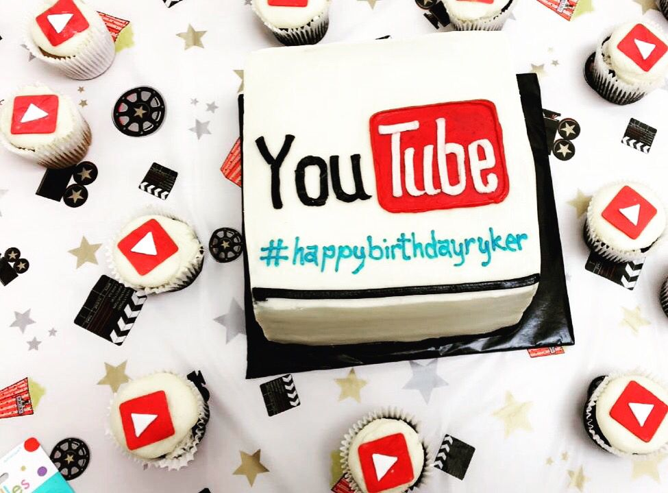 Swell Youtube Birthday Cake Happybirthday Youtube Youtube Birthday Personalised Birthday Cards Paralily Jamesorg