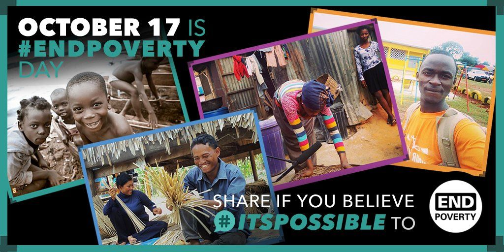 #EndPoverty hashtag on Twitter........Please bless all who struggle.....   ....Care and share.....