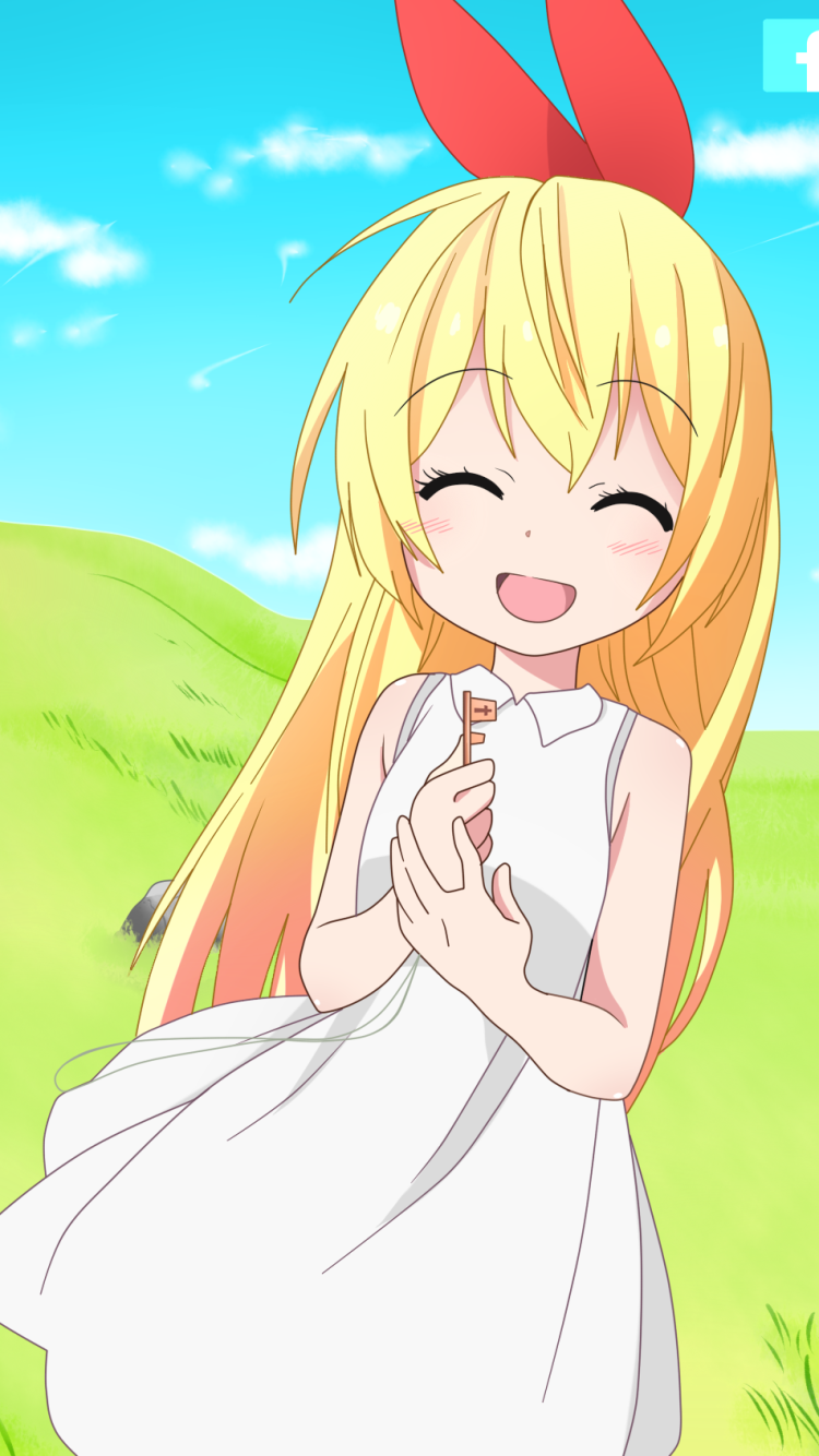 Chibi Chitoge Kirisaki Ilustrasi Karakter Ilustrasi Seni Anime