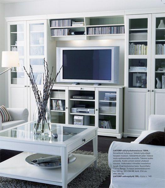 Ikea wohnwand landhausstil  Ikea Liatorp … | Pinteres…