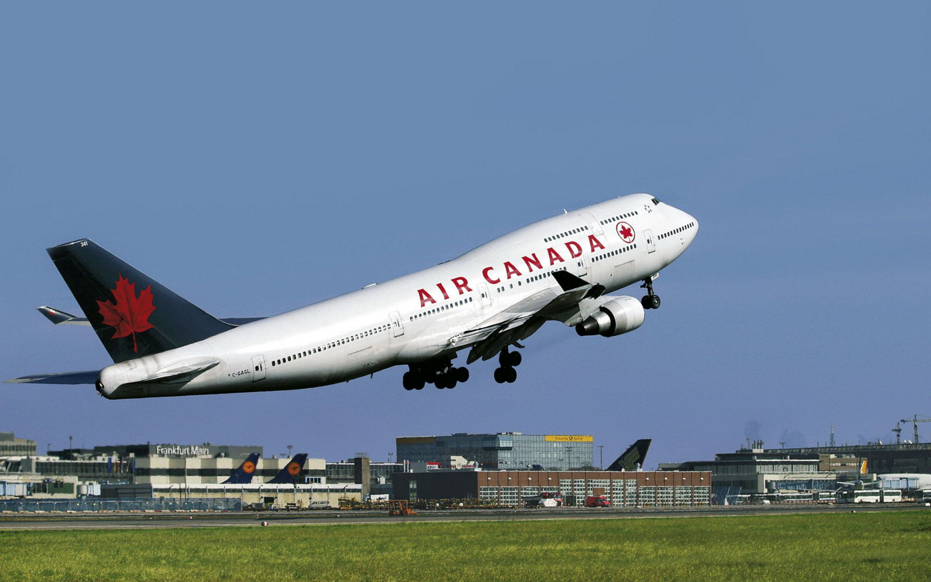 Air Canada Air Canada 747 Computer Wallpapers Desktop Backgrounds 1920x1200 Id Aircraft Boeing Boeing 747