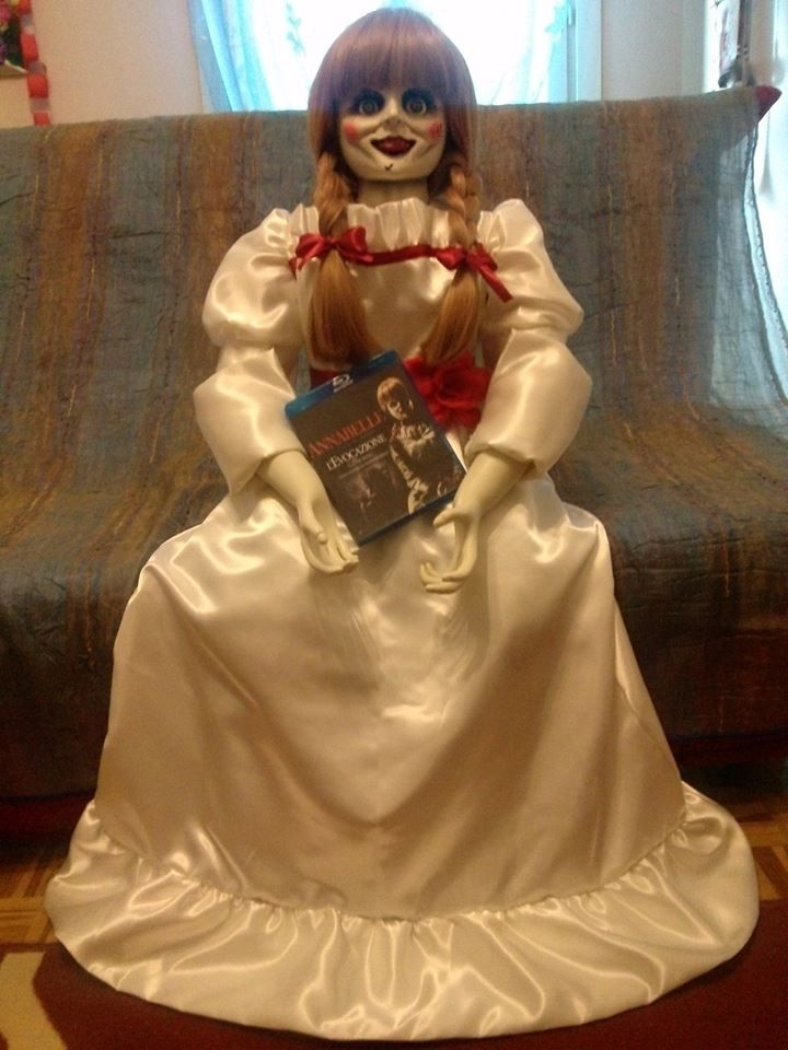 Annabelle - The Conjuring - Custom doll created by Anfyart