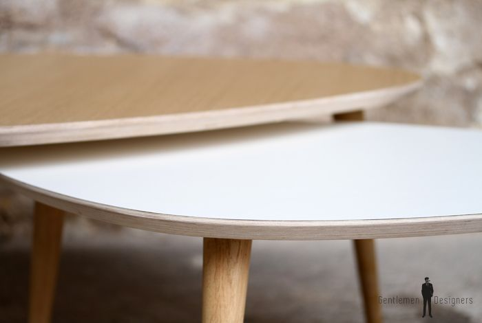 TABLE BASSE TRIPODE GIGOGNE - made in France - scandinave | Cosy