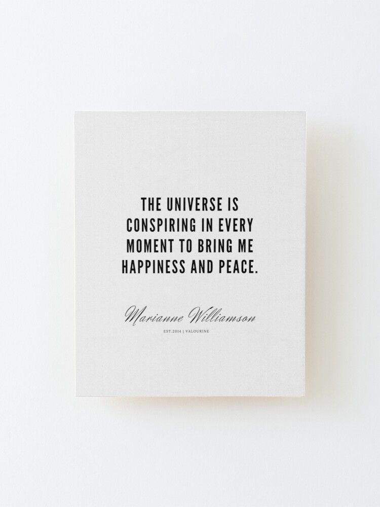 79   |  Marianne Williamson Quotes | 190812 Mounted Print by valourine