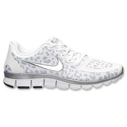 Women's Nike Free 5.0 V4 Running Shoes | Finish Line | White/Silver/Wolf