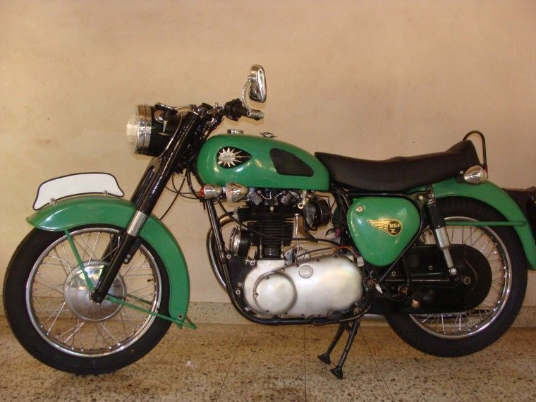 1960 BSA CB33 Classic Motorcycle Pictures