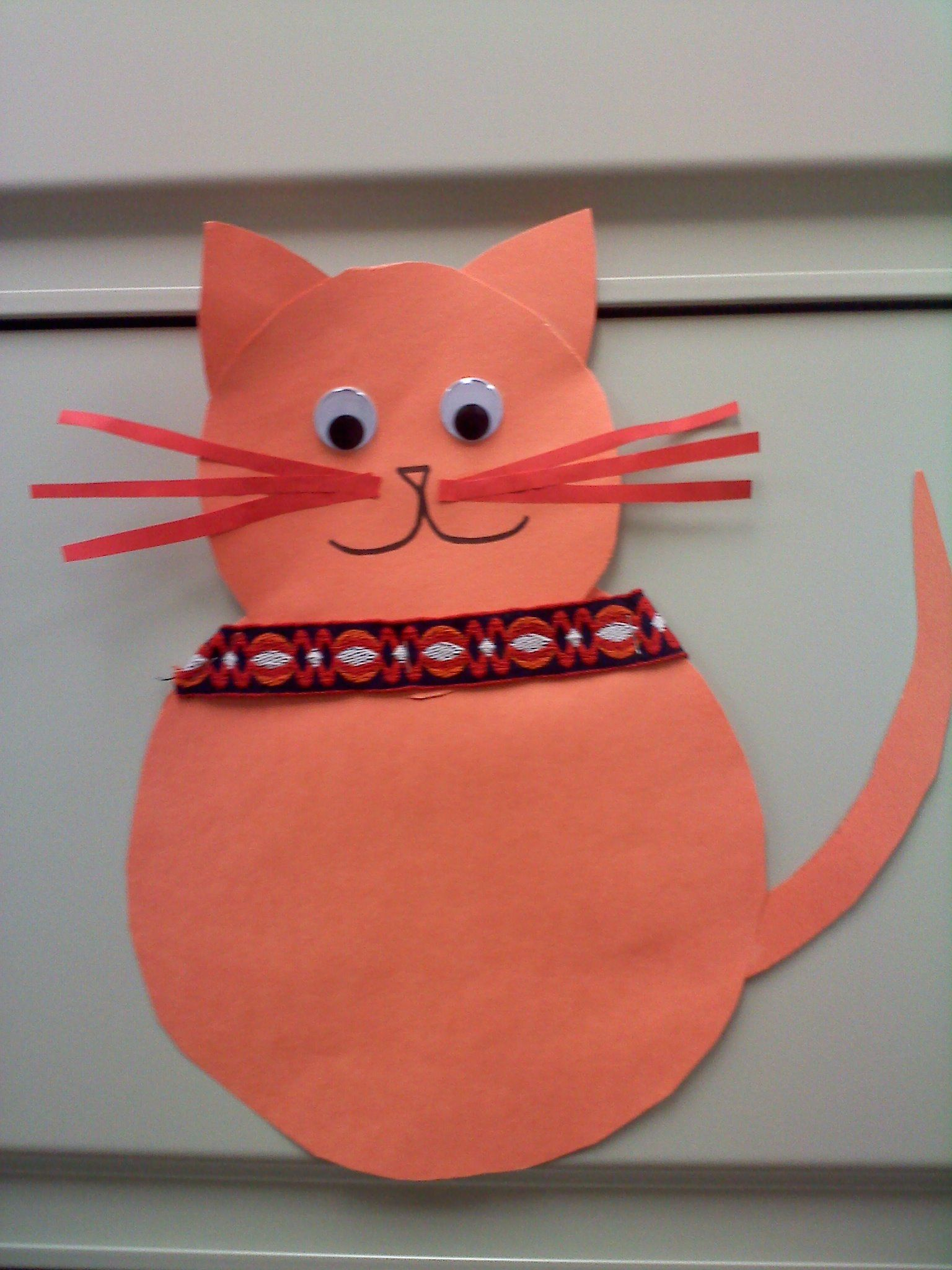 Simple Cat Craft For Ages 3 5 Storytime Fun Preschool Crafts